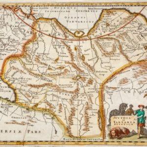 Антикварные гравюры и карты